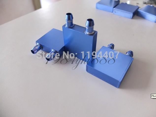 50 por atacado pcs 40*40*12mm água de alumínio bloco de arrefecimento para cpu gráficos dissipador de calor do radiador moq: 1 pcs(China (Mainland))