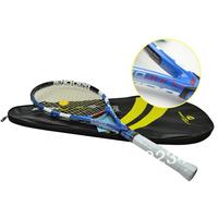 Bule color Aero Pro Drive GT Tennis Racket  Carbon Fiber Racquets,free shipping