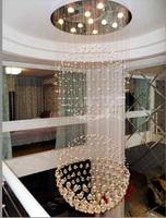 Chandelier/Crystal K9/LED/Simple/Reliable Quality/Two balls Design/Huge/Energy Saving/Living Room/Hanging Lights