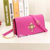 Free Shipping Fashion Korea Style Messenger Bags Rivet Shoulder Bags