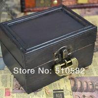 Zakka vintage beautiful small wooden box /fashion handmade antique storage wooden box ,12*8.5*6cm  5pcs/lot