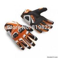 New original KTM racetech 12 motorcycle gloves motorbike motorcross ATV Offroad gloves MTB Bicycle Riding Orange gloves  M L XL