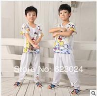 Free shipping wholesale 2014 new boys pajamas,pajama short kid