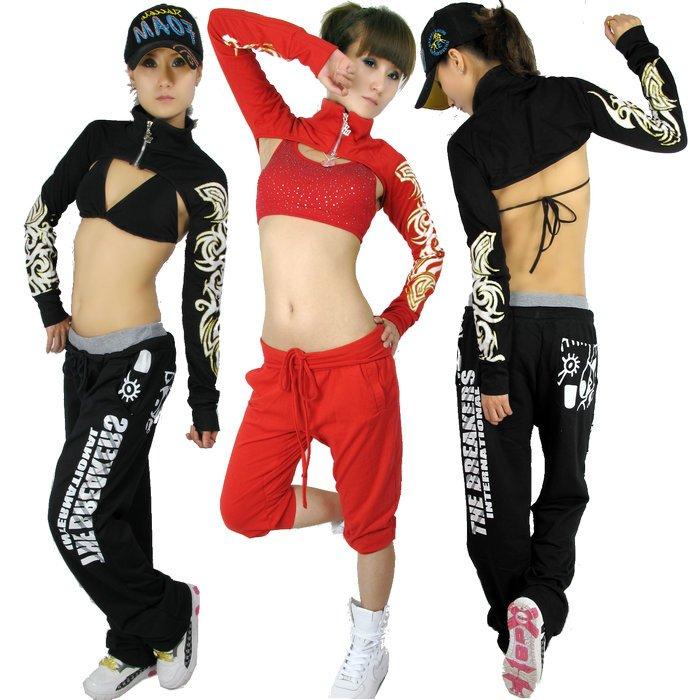Hip Hop Dance Group Outfits New Fashion Hip Hop Top Dance
