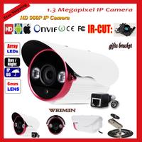 Wholesale - ONVIF Full HD 960P 1.3 Megapixel Night Vision IP66 Waterproof IP Camera