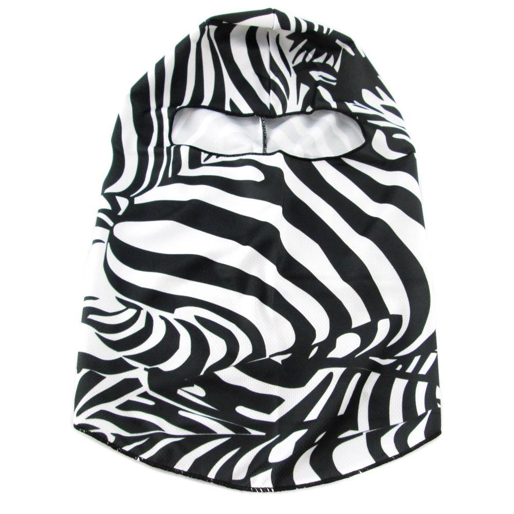 10pc/lot Unisex Neck Warmers Hoods CS Mask Ski Hood Tactical Balaclava Full Face - Outdoors Sports - zebra print design(China (Mainland))