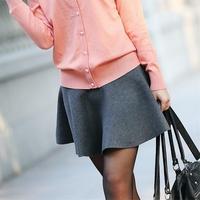 2014 spring female bust skirt short skirt puff skirt sheds autumn and winter dress