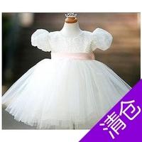 robe enfant Child dress princess dress child female wedding dress flower girl formal dress child costume costumes