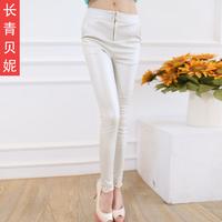 2014 spring trousers female elastic pencil pants casual pants female trousers slim
