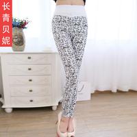 2014 spring colored pencil pants elastic skinny pants
