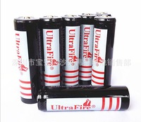 Lithium battery factory -- 500 PCS black shenhuo 18650 lithium battery 3.7 V lithium battery capacity of 18650 ma
