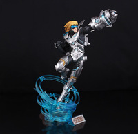 Free Shipping!Hot Game LOL Explorer Ezreal Top Grade 30CM PVC Action Figure Model Toy Birthday Gift With Retail Box