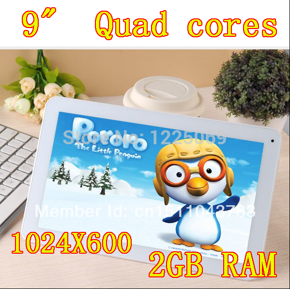 Quad Core 9 inch DDR2GB ram HD16GB Wifi Camera HDMI Tablet PC Tablets PCS Android(China (Mainland))