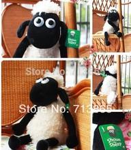 32cm Cute Shaun the sheep lamb plush toys wholesale Christmas gift bag sends kids,Free shipping, Best gift(China (Mainland))
