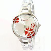 KIMIO lady fashion bracelet quartz watch best sales Lucky clovers pattern dial free shipping K425L