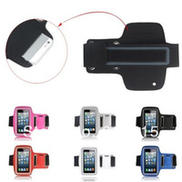 5pcs sports style Solf Belt bag arm band case ArmBand for iphone4 4G 4s 3G 3gs mp3 hot sale