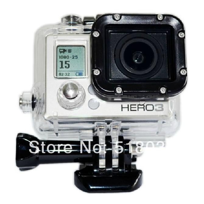 30M water proof case go pro hero3 accessories source to gopro original(China (Mainland))