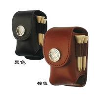 Genuine leather small waist pack spherule bag gift