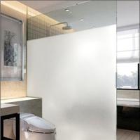 Glue electrostatic window film bathroom glass film glass paper thin scrub 45cm width