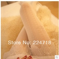 Min order US$9.9(mix order)Lolita style  hollow-out pantyhose for spring autumn and winter