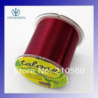 No.1 Quality&service Red Color 500m Extreme Strong Japan Monofilament 100% Nylon Fishing Line 40.6LB
