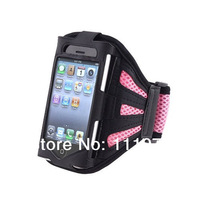 Gift!!Gym Armband Workout Accessory Outdoor Sport Jogging Running Strap Holder Case Cover for iPhone 5 5s free shipping! 6 color