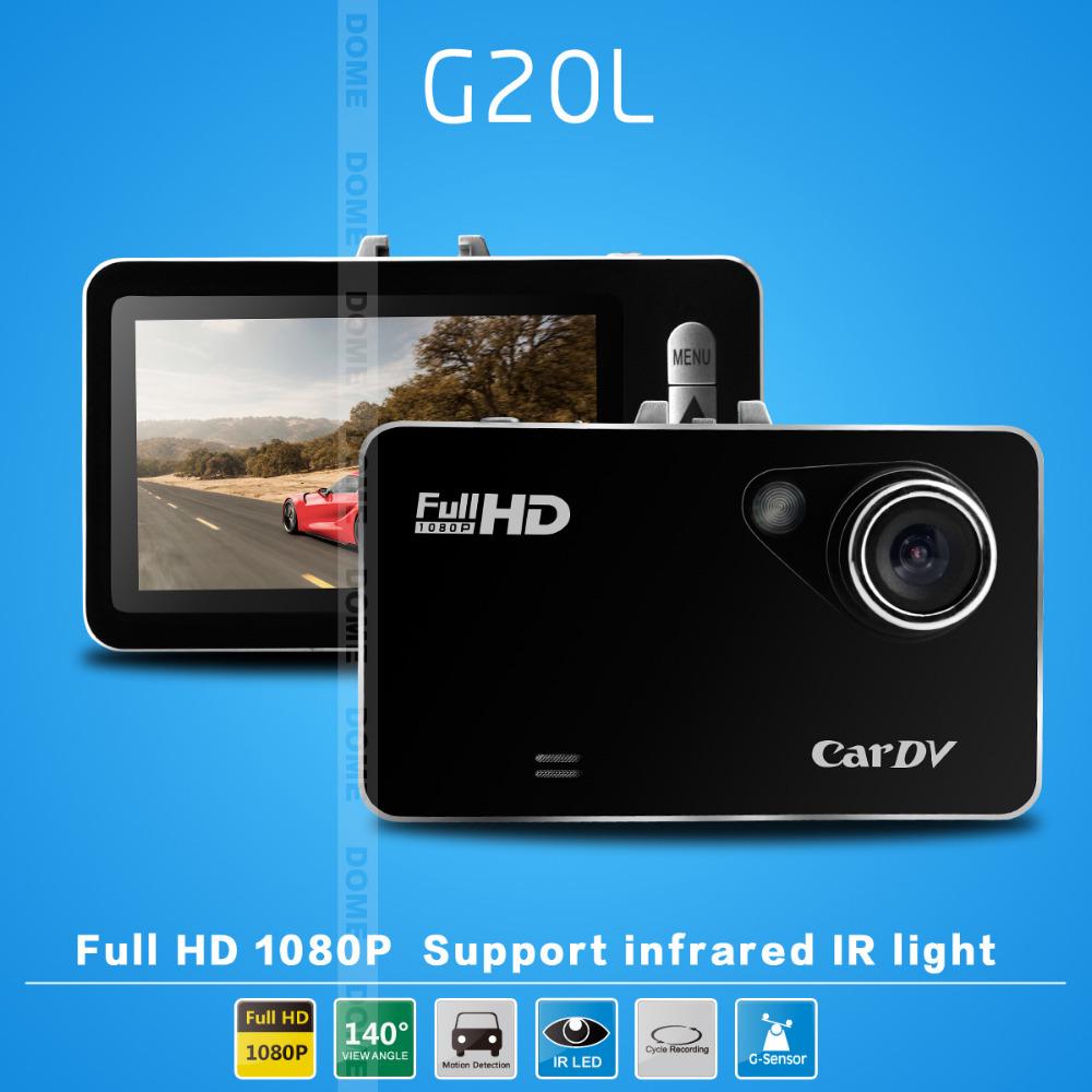 "2014 NEW Car DVR G20L Novatek Full hd 1080P 2.7""LCD+G-Sensor+Motion Detection IR Night Vision Camera Video Recorder Dash Cam(China (Mainland))"