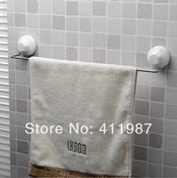 Free Shipping  New Arrive Good Quality Double Sucker Bathroom Single Towel Holder Set.A77