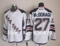 Cheap stitched 2014 Stadium Series New York Rangers #27 Ryan Mcdonagh Ice Hockey Jersey /shirt