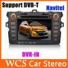 2 Din Car Audio DVD GPS Player For Toyota Corolla 2007 2008 2009 2010+Gps Navigation Radio Car Pc+DVD Automotivo Car Styling+MP3