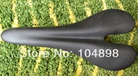 no brand 3K matt full carbon fibre saddle bicycle bike saddle parts