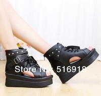 2014 new Open Toe High Heels Women Pumps Brand New Design Less Black bottom high heels shoes women free shipping