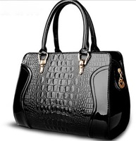 2014 new wave of female bag bride bag crocodile handbag