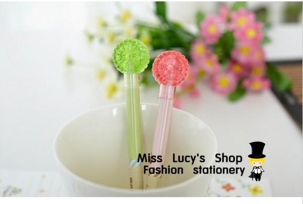 Free ship 1 lote = 12 conjuntos / coreano papelaria kawaii pneu Brady neutro caneta canetas gel fabricante atacado caneta criativa(China (Mainland))
