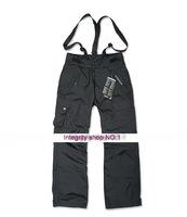Outdoor  Waterproof Adhesive The Disassemblability Fleece Liner thermal Men Monoboard Skiing Pants Shoulder Belt Of Pants