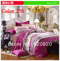Home decor Brand Sunny-mood Bedding sets Comforter Bedding set Home textile 4PCS Duvet Quilt Cover Bed Set Bedcover Bedclothes