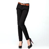 2014 spring plus size clothing ol suit women's casual pants female long harem pants trousers