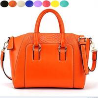 New 2014 Faux Crocodile Embossed Stylish Office Satchel Shoulder Bag Women Handbag Messenger Bags Bolsas Femininas B22
