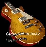 Custom Shop Joe Bonamassa Skinnerburst 1959 VOS Electric Guitar Dirty Skinnerburst Lemonburst  Electric Guitar By Spring