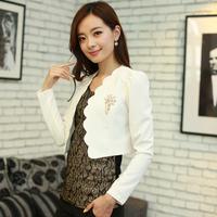 2014 spring female blazer outerwear slim all-match long-sleeve women's blazer top