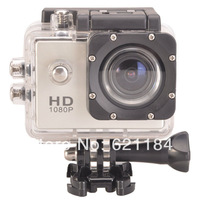 "2.0MP 1080P H.264 Full HD 40m Water Resistant 1.5"" LCD Mini Sports DV Camcorder Action Video Camera With Gopro Hero3 Style"
