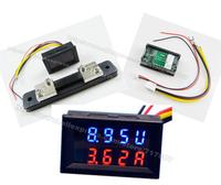 Dual display Meter LED DC 0-100V DC50A Car Motorcycle DC Amp Meter Volt Meter Voltmeter Ammeter 2 in 1 Panel Meter