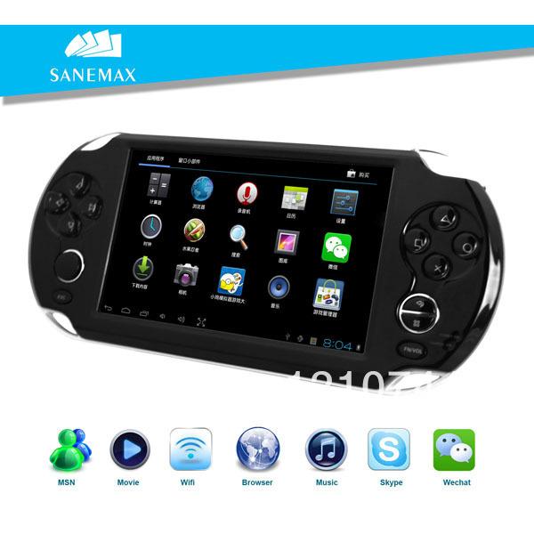 Livraison gratuite! C502,5 pouces. android. console de jeu portable lecteur,intégré- en 8 simulateur/1080p hdmi./multijoueur