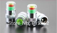 2.4bar Car Tire Pressure Monitor Valve Stem Cap Sensor Indicator Eye Alert  1000packs = 4000pcs/lot