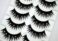 8 pairs Blink  curling  eyelashes extensions  Natural cotton stalk Blink lash   Make up eyelashes free shipping