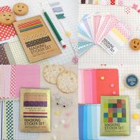Wholesale,(1 lot=108 sheets) DIY Scrapbook Paper Decorative ribbons Stickers Decoration Party Sticker Paper