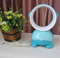 Brand New Portable Bladeless Electric USB Fan Refrigeration Bladeless Fan  Desktop Fan 4 Colors,Free Shipping