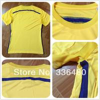 New arrival 14/15 Chelsea away yellow soccer jerseys thai best quality fans version jersey, Chelsea soccer jerseys,size:S/M/L/XL
