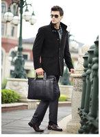 LENWE BOLO Men Business Briefcase leather Handbag men shoulder bag/laptop bag brand messenger bag,free shipping