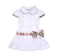 80-135cm Princess Baby Girl Dress 100%cotton Summer 2014 Little Flower Girls Dresses Brand Kids Children Dress Party